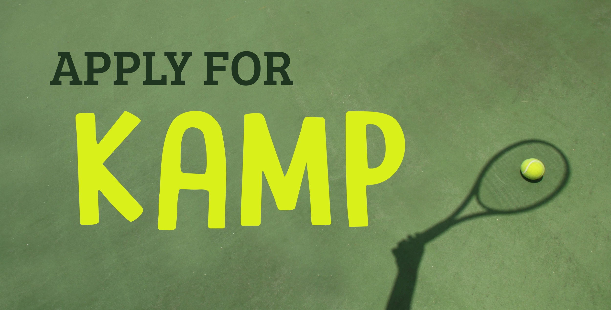 KC's Kamp for Kids Web Headers