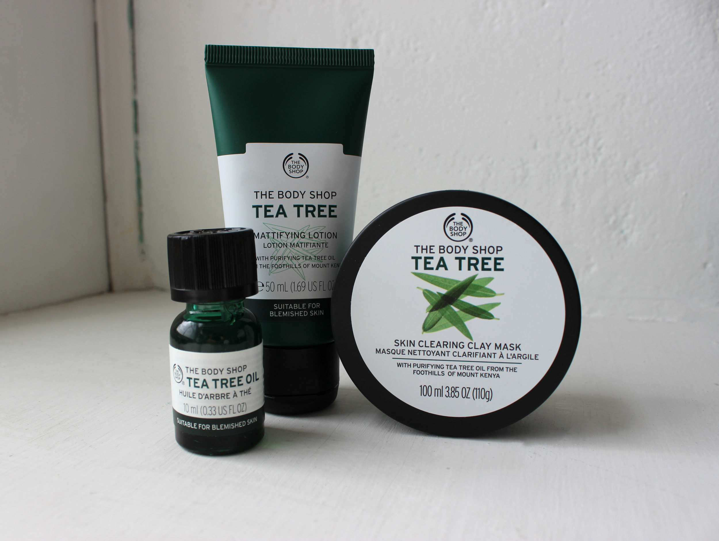 The Body Shop Tea Tree Oil Collection Review Paola Kassa