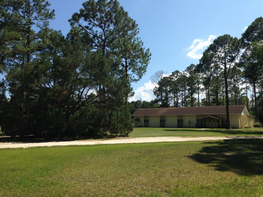 Pentecostal Revival Center in Palatka, Florida.
