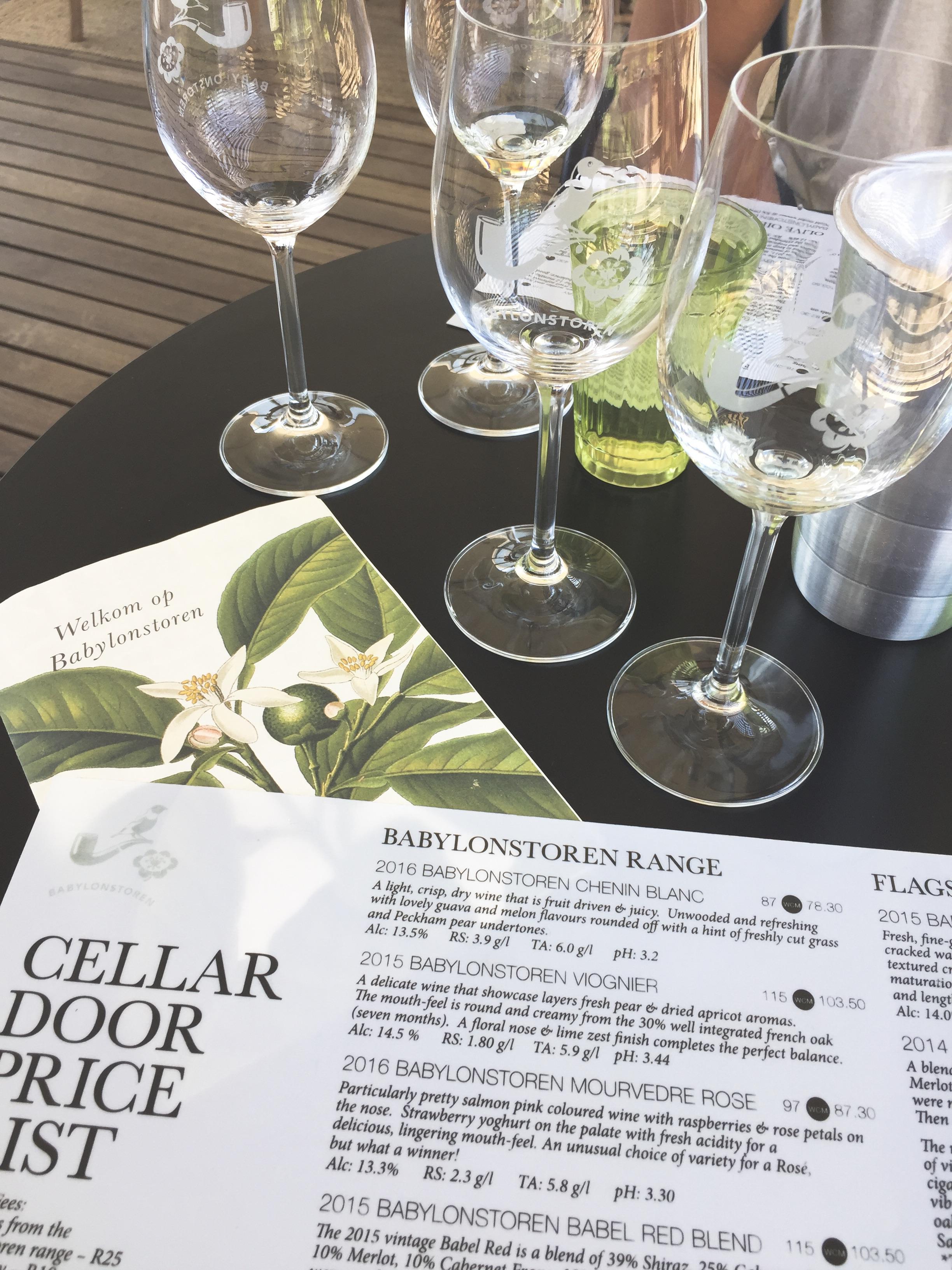 Babylonstoren Wine Cellar