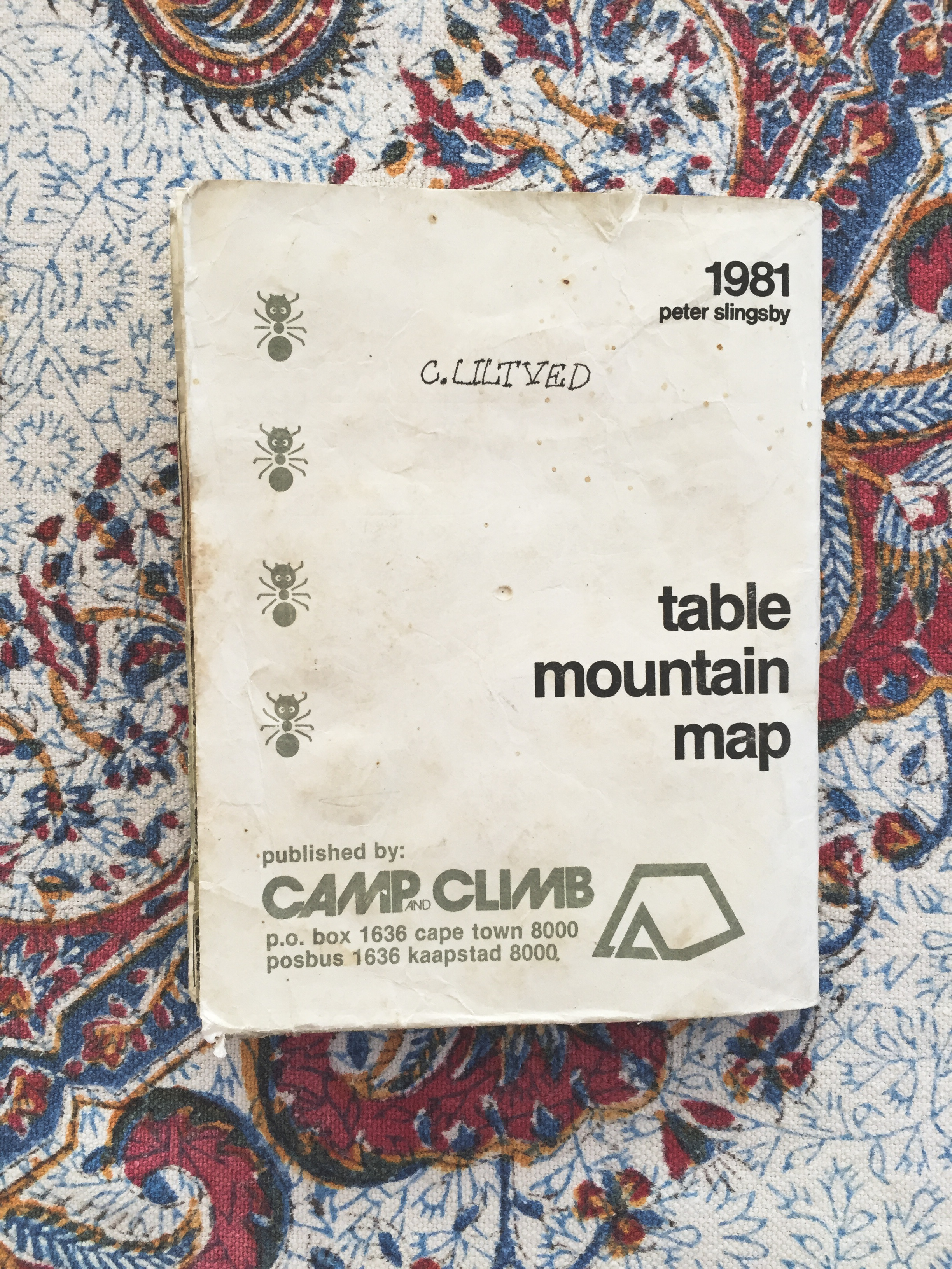 Table Mountain Map
