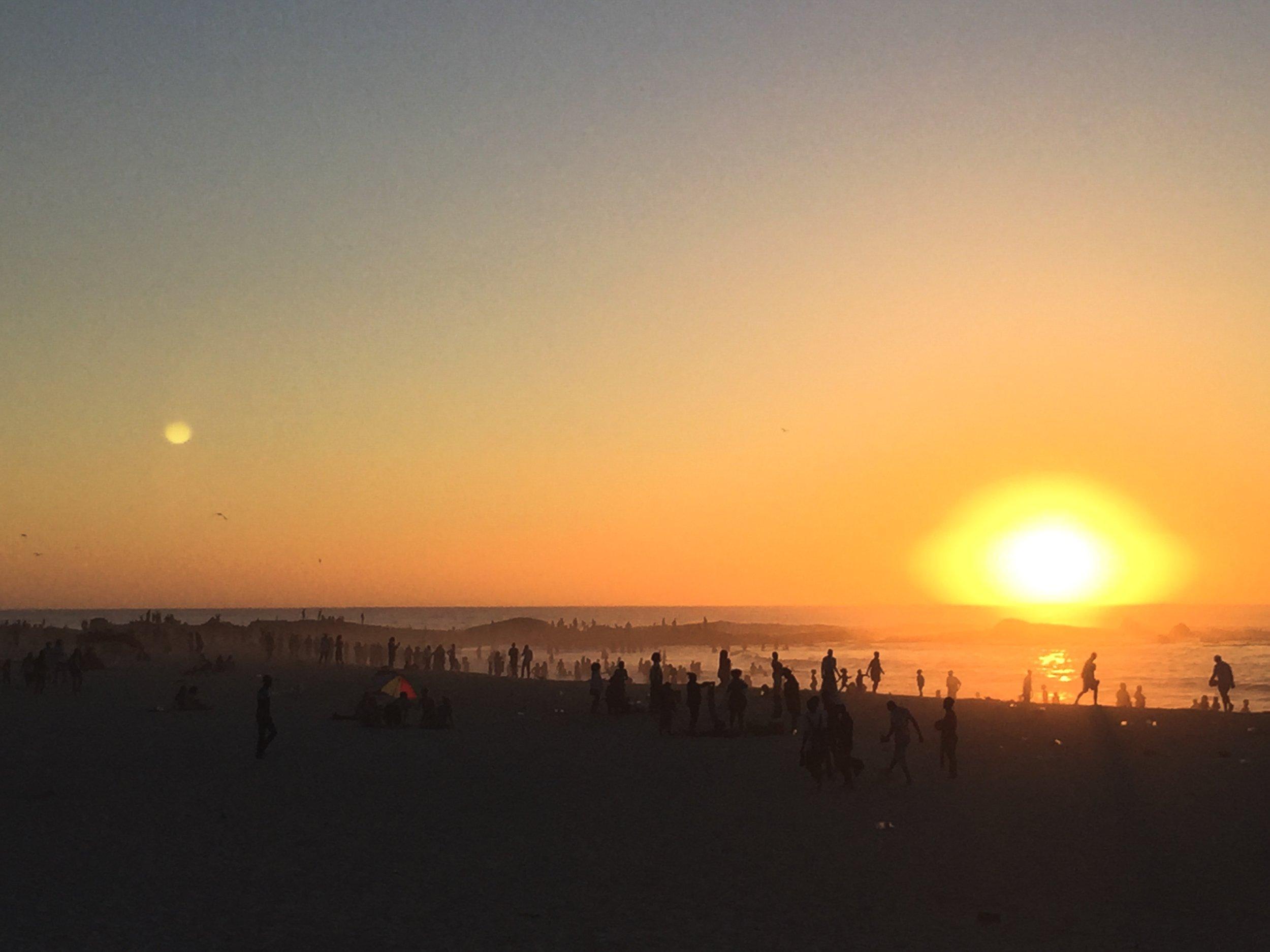 Camps Bay Beach Sunset