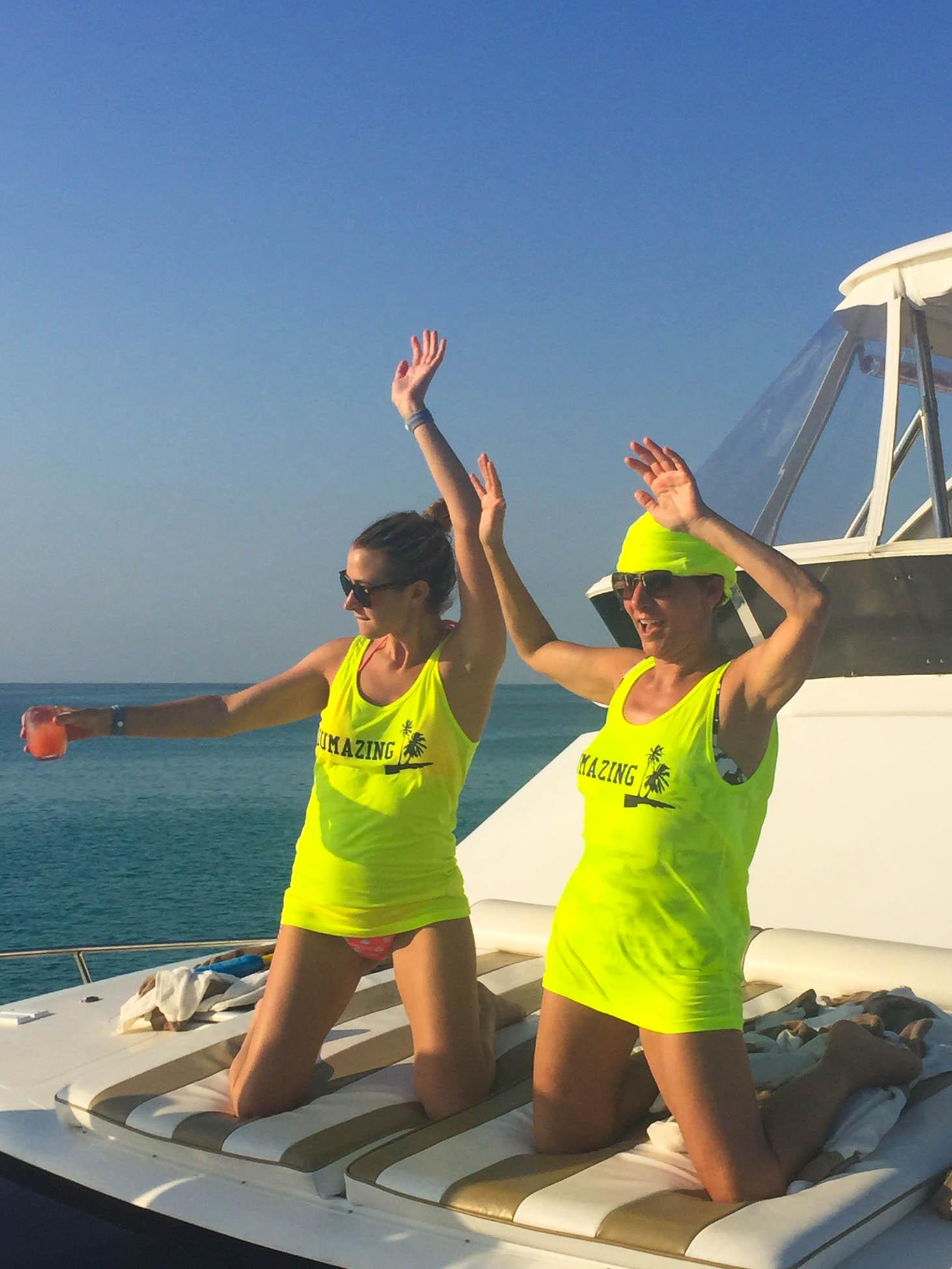 Catamaran Dance Party