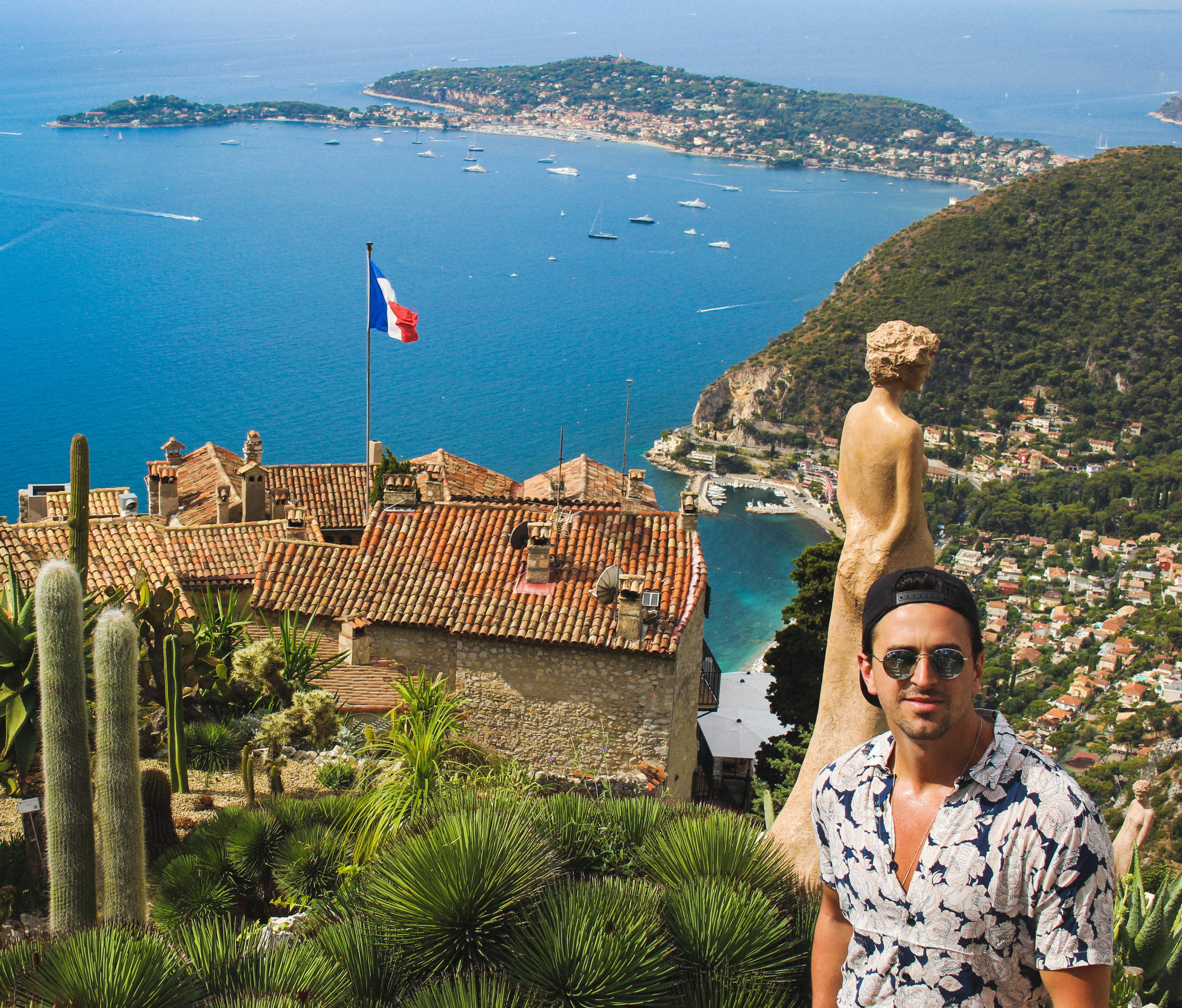 View From Jardin Exotique D'Eze