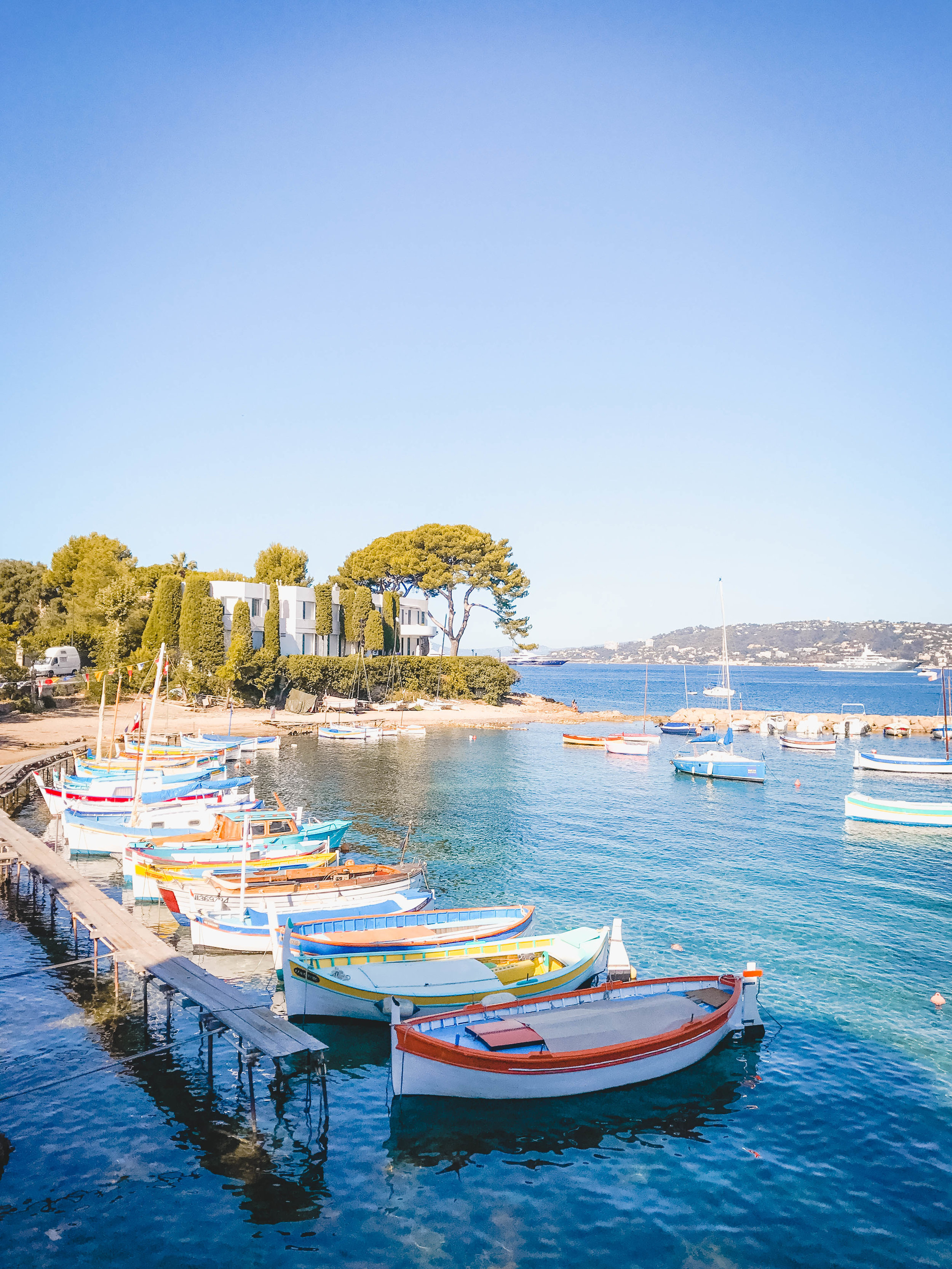 Old Fishing Village in Cap D'Antibes