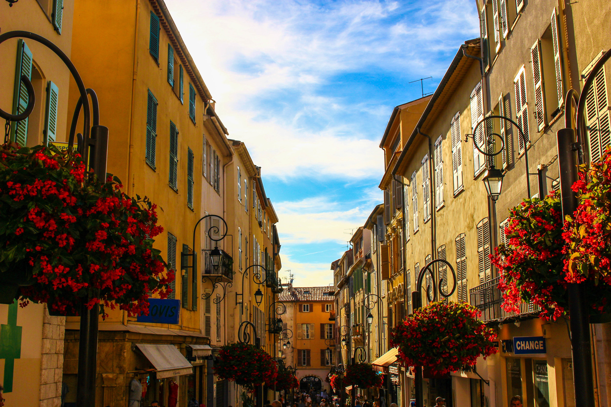 Old Town in Antibes