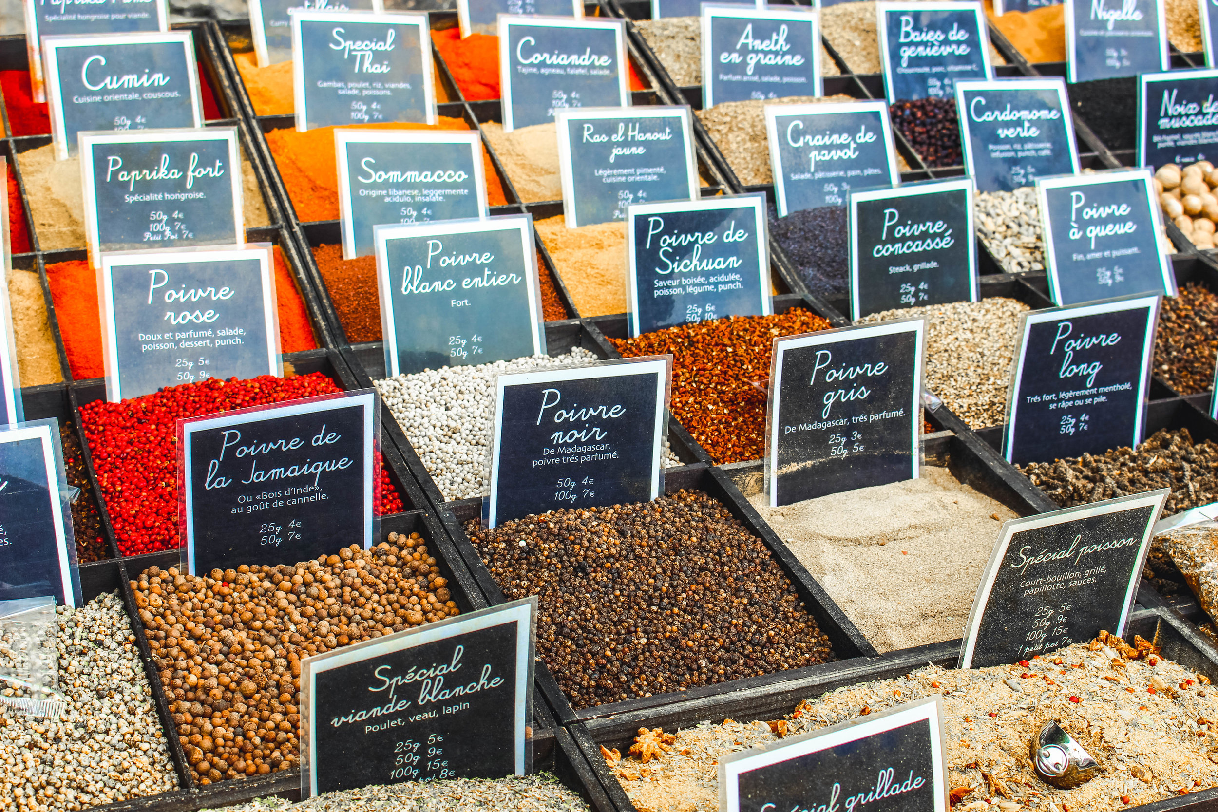 Spice Market in Eze