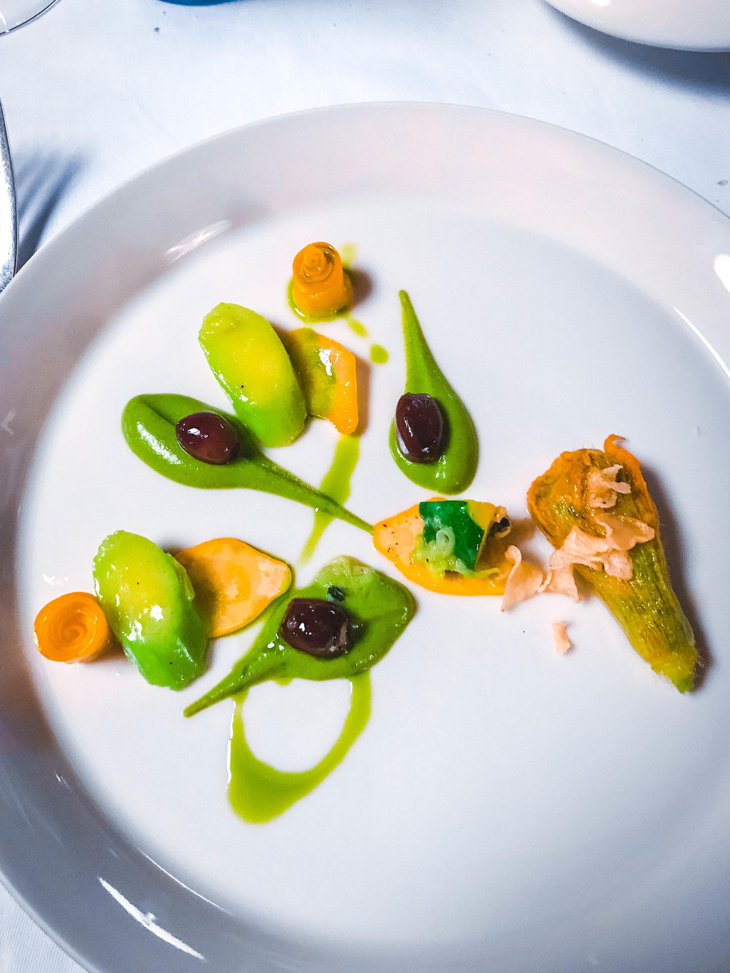 La Passagere - Fried Zucchini Blossom
