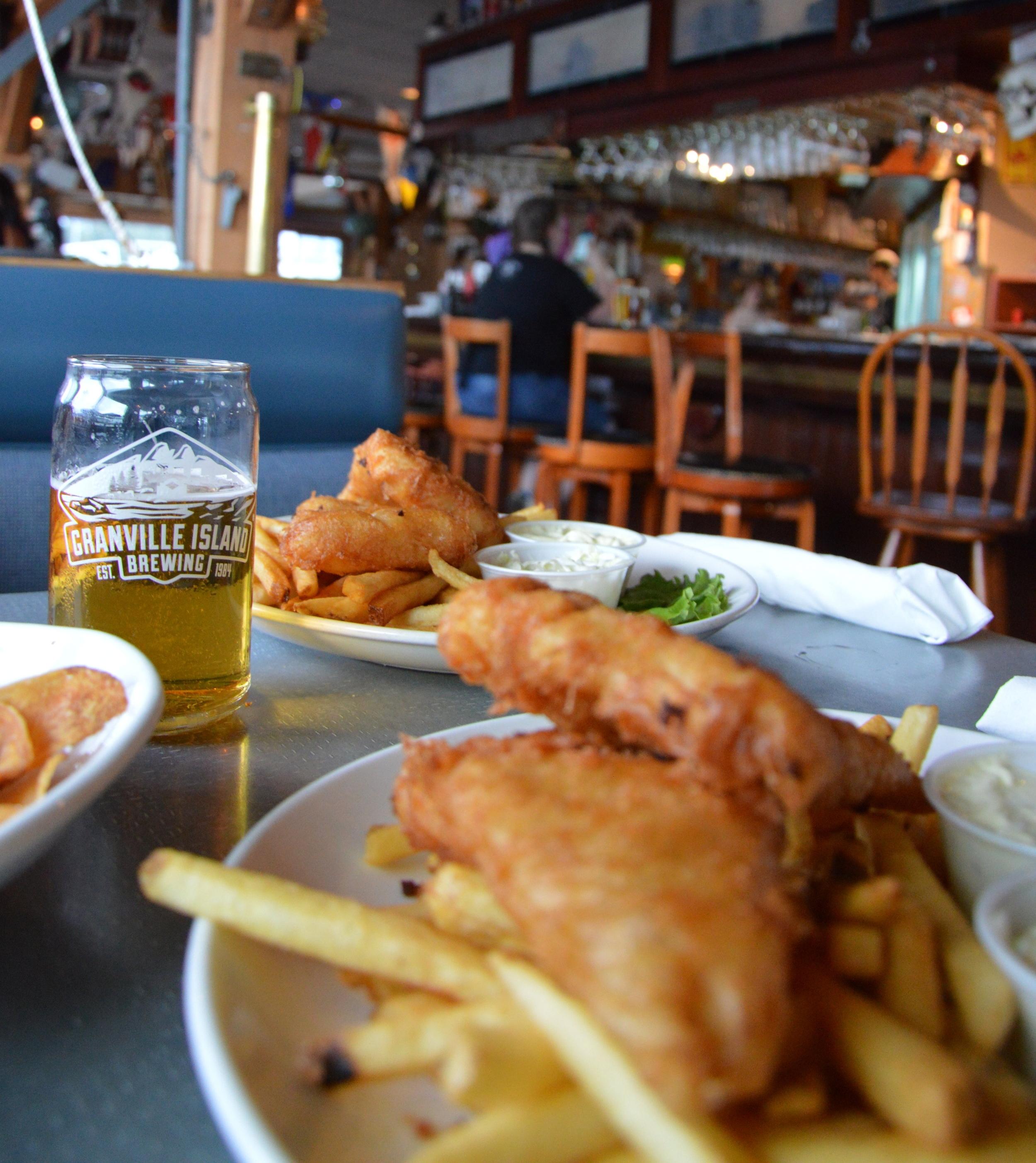 The Dinghy Dock Pub.