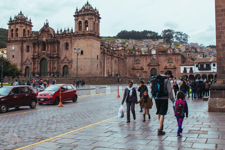 Walking in Cusco