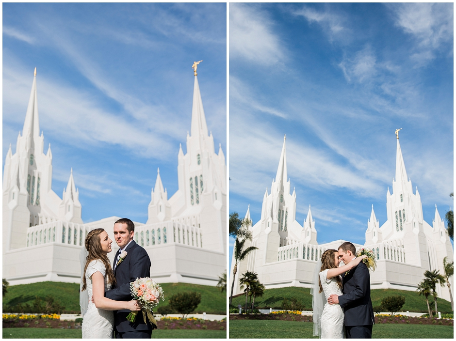 San Diego LDS Temple Wedding (10)