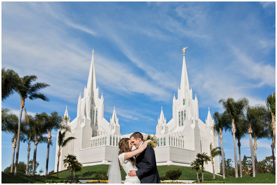 San Diego LDS Temple Wedding (11)