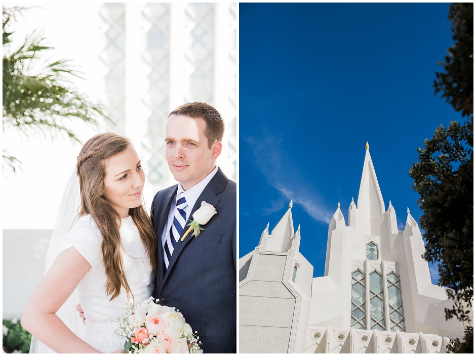 San Diego LDS Temple Wedding (6)