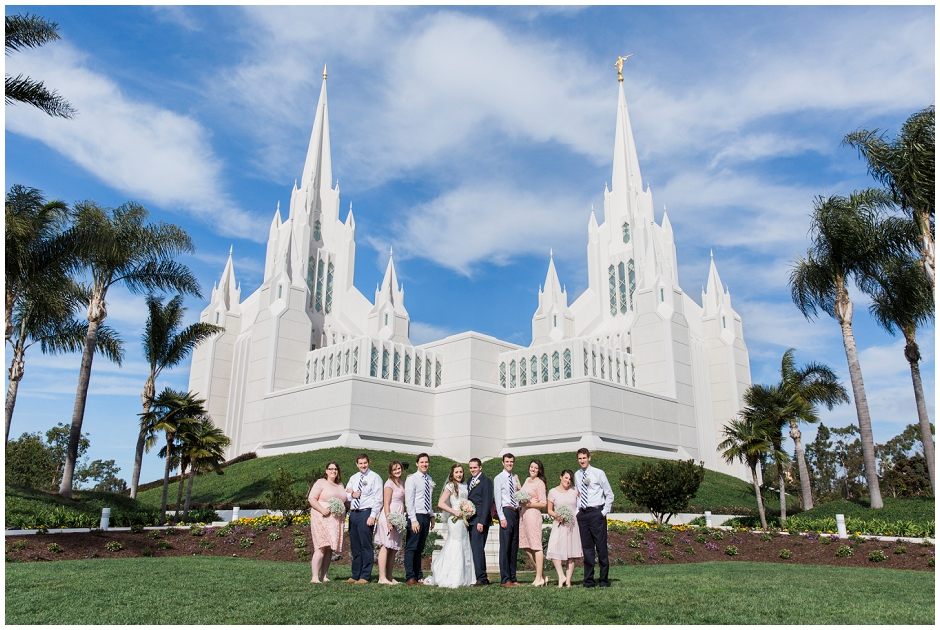 San Diego LDS Temple Wedding (7)