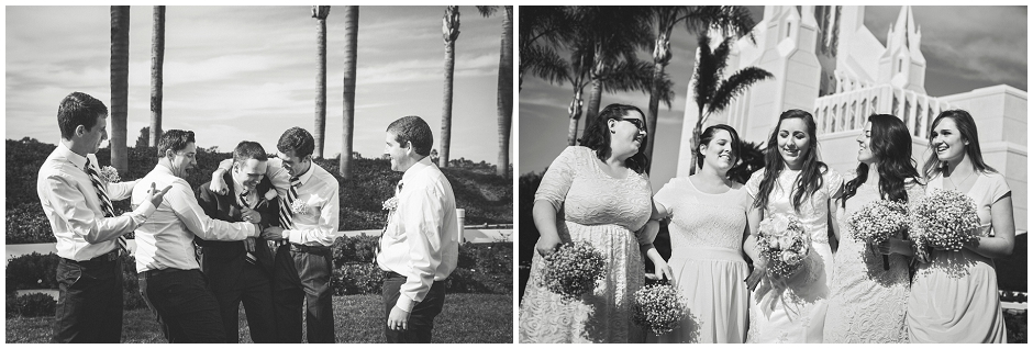 San Diego LDS Temple Wedding (8)