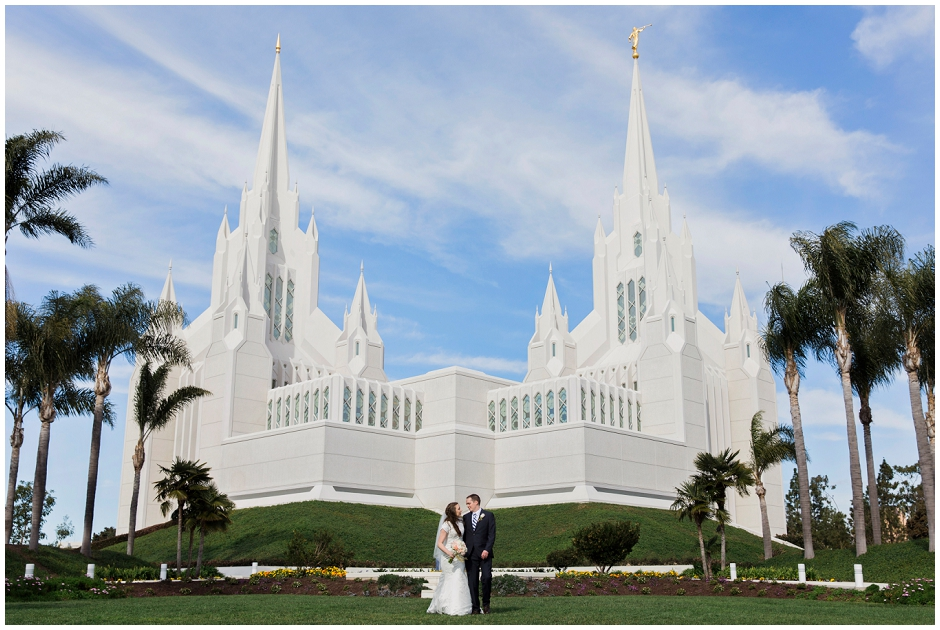 San Diego LDS Temple Wedding (9)