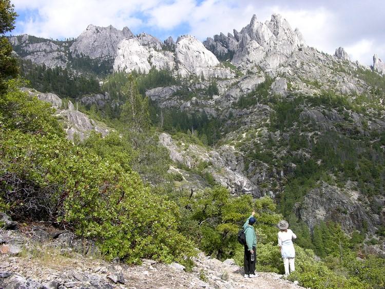 Fahad en Mt Shasta