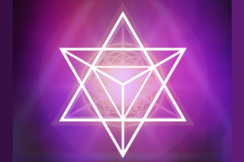 Estrella Violeta de Transmutación Campo Aurico 5 de Luz.