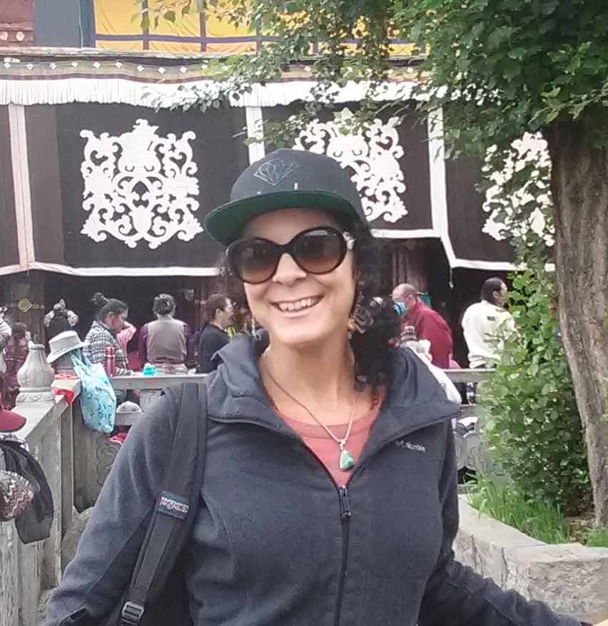 Dechen Steele, Sangha Journeys Manager and Trip Laeader