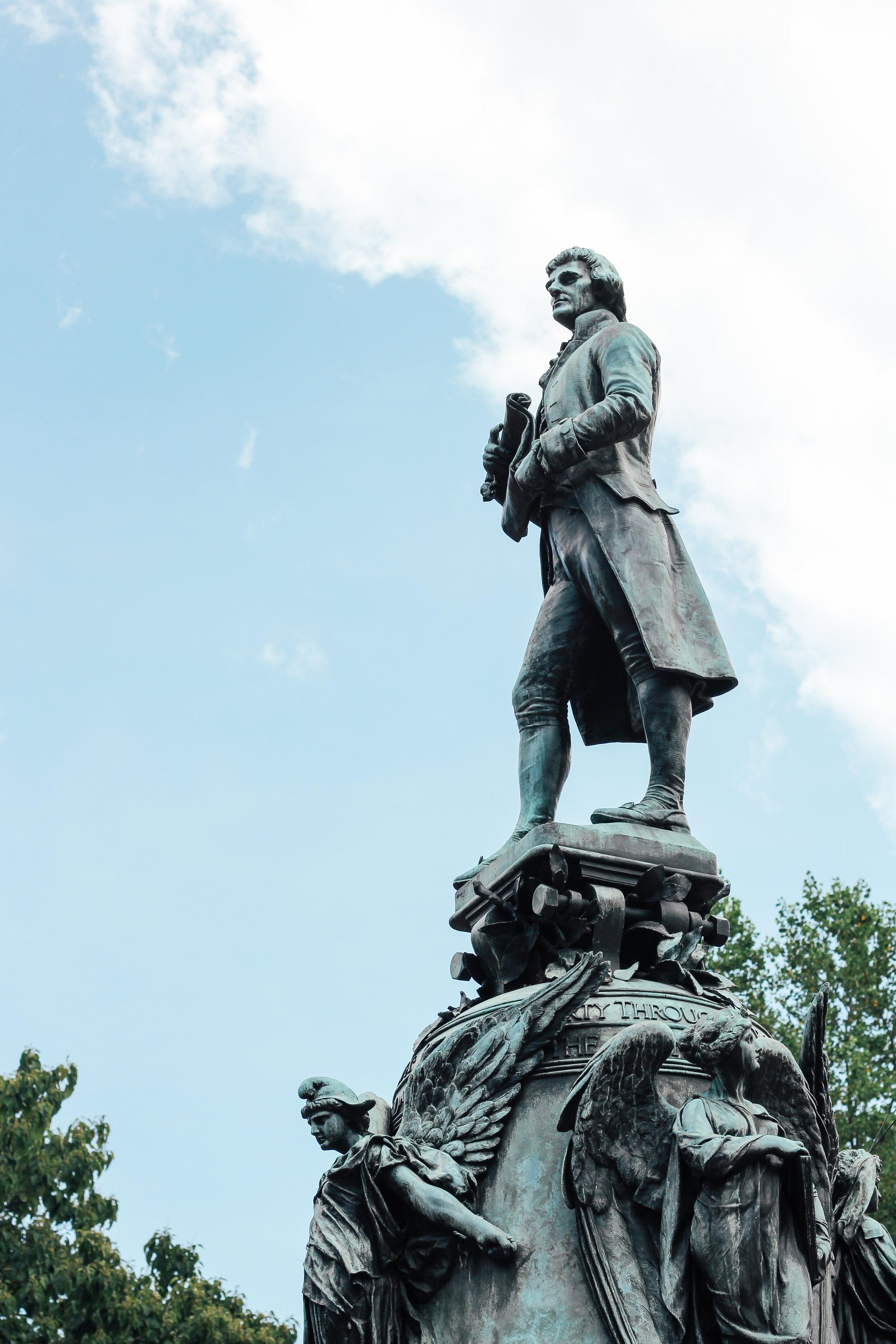 Thomas Jefferson .  University of Virginia.