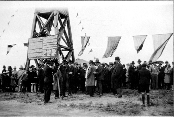 Opening Day at the Lookout Tower 1934