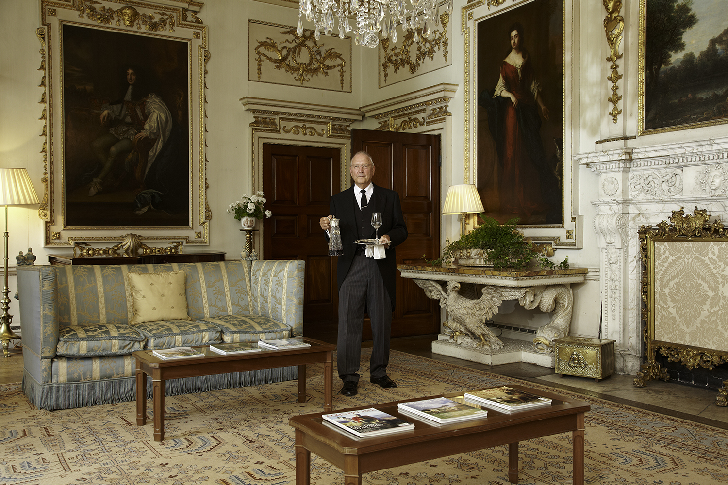 Meet Mr Fink.   The quintessential English butler   Read more about him
