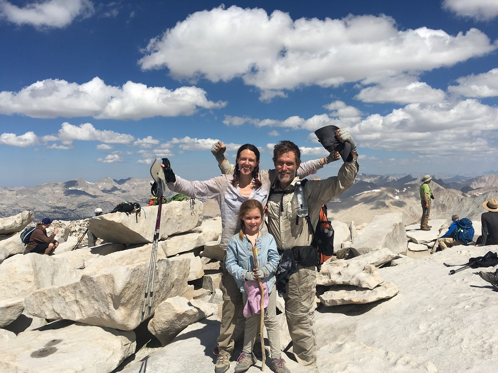 The summit of Mt. Whitney!