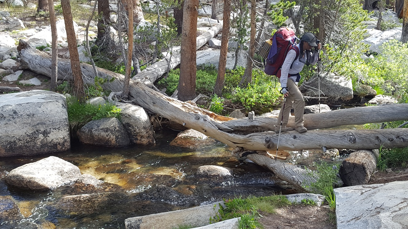 Yet another stream crossing.