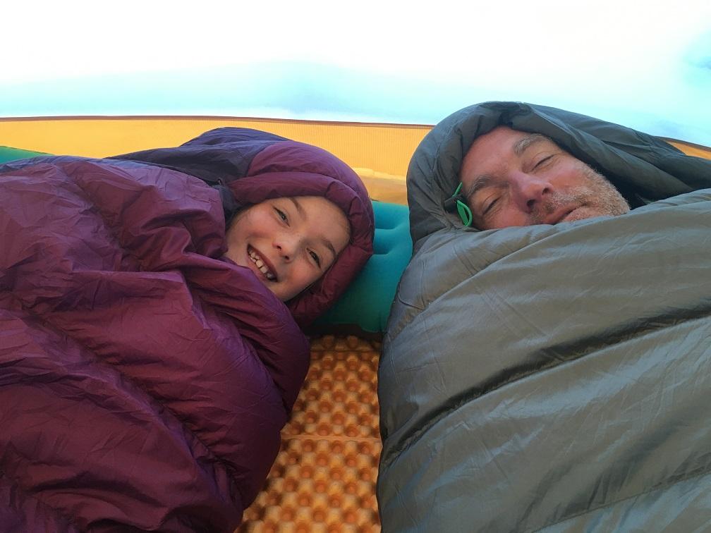 Keeping Warm in Sleeping Bags.