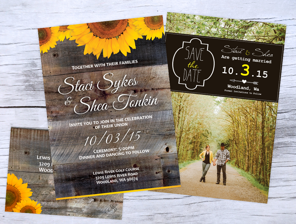 Wedding Invitations, Save the Date