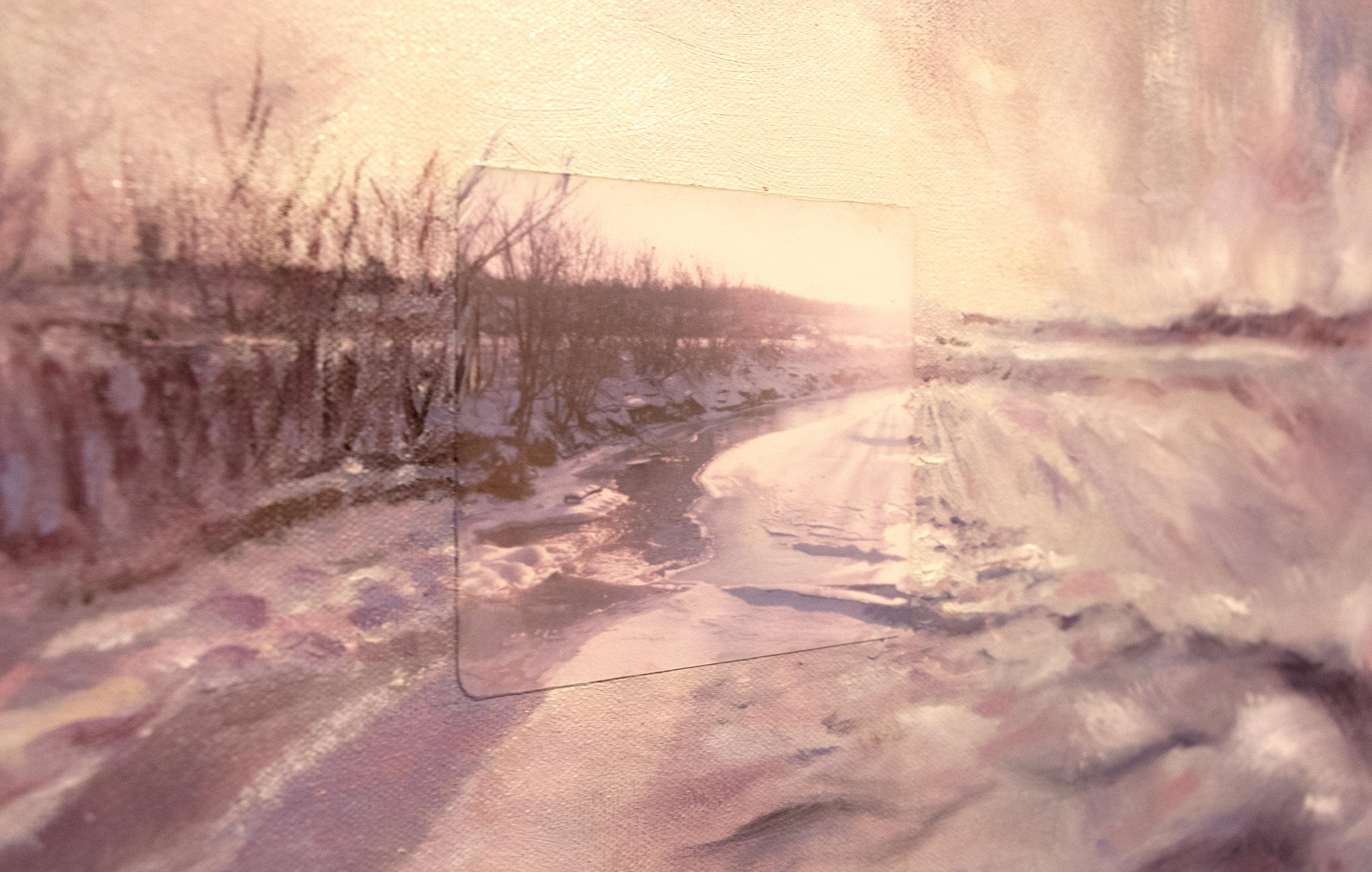 Winter River (Detail)