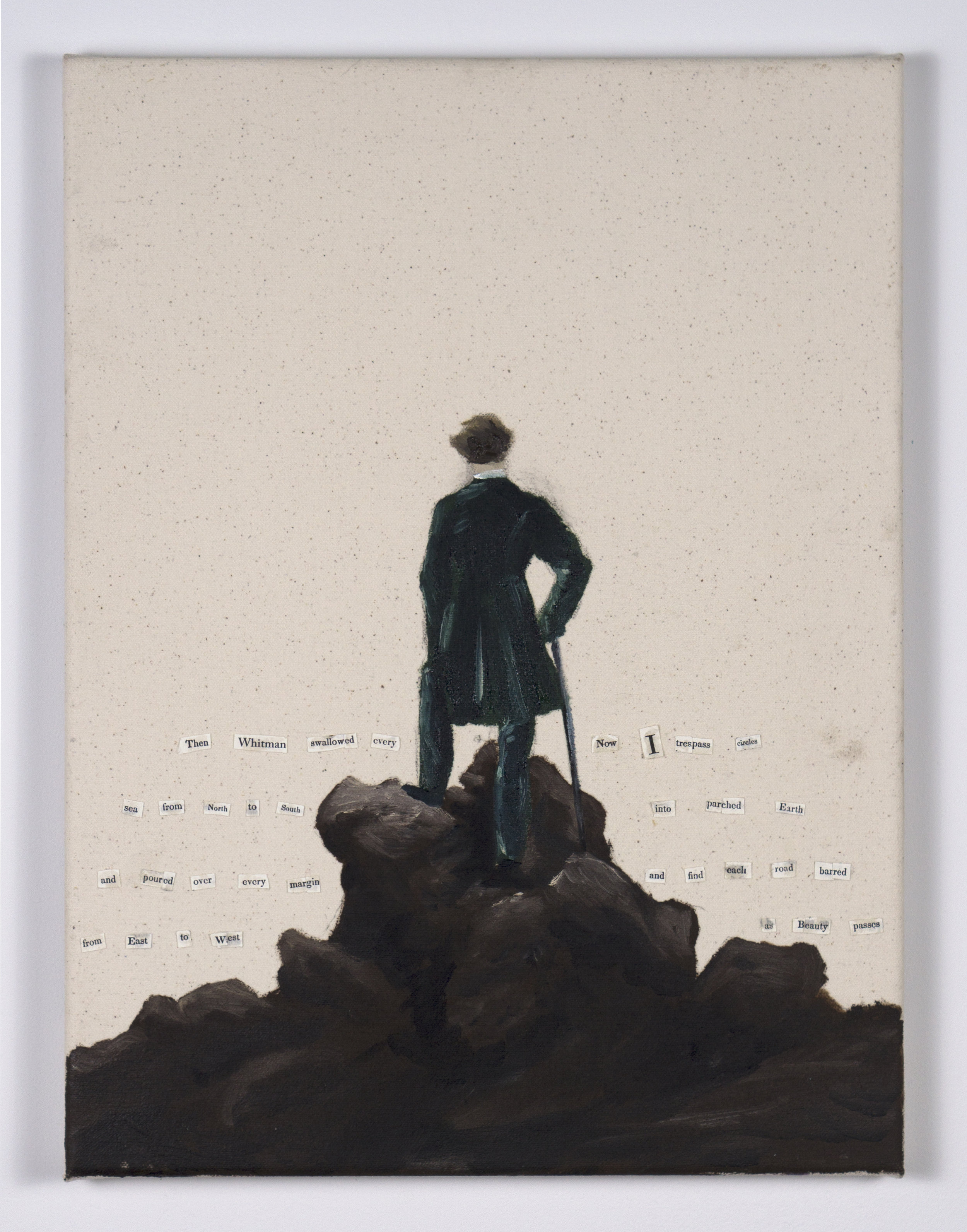 The Wanderer - After Friedrich and Whitman