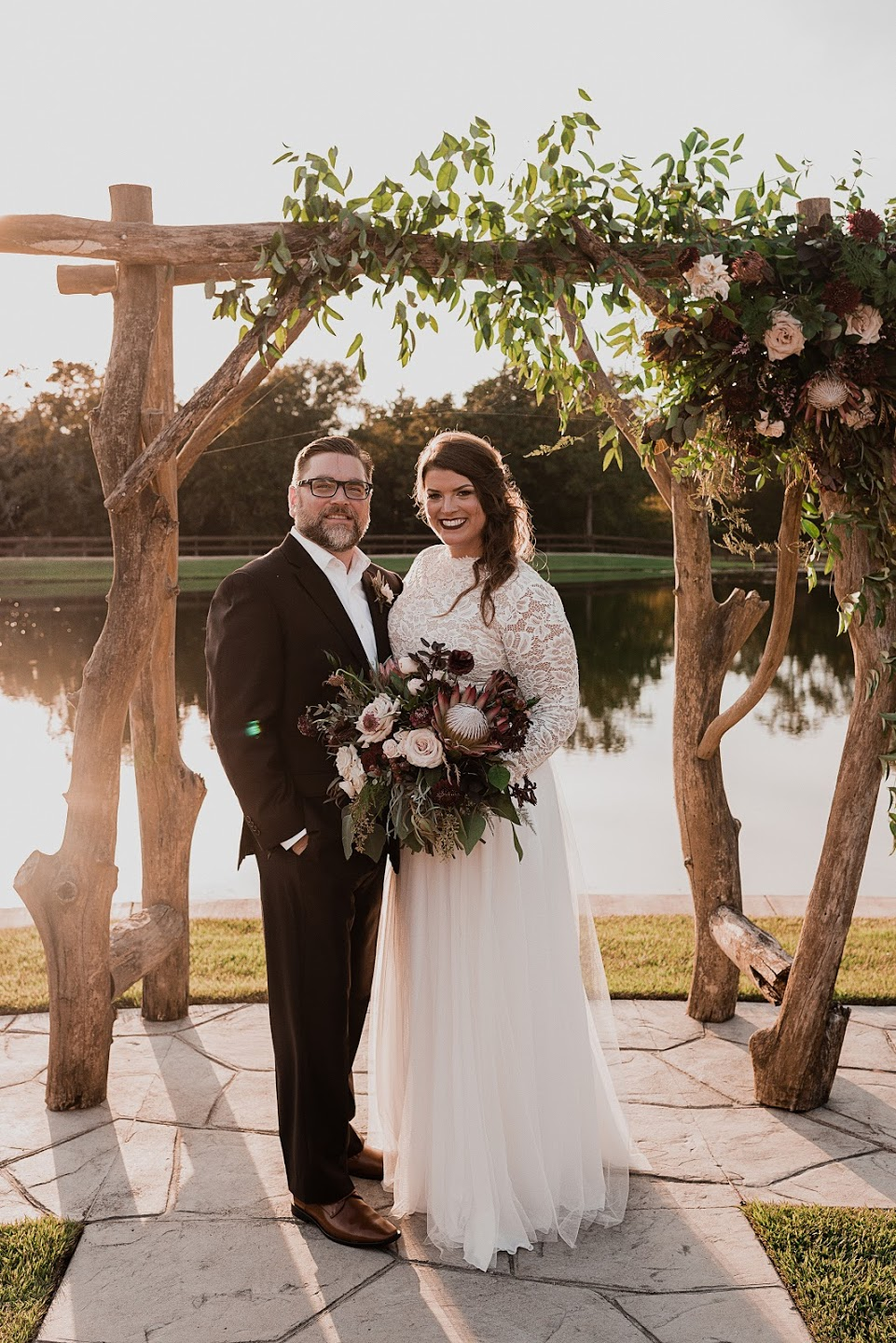 "Kelly + Tyler - ""Kim exceeded my expectations from beginning to end. Every meeting that we had went into detail about all items that needed to be included in the wedding. She literally made all of my wedding dreams come true. When i walked into the venue on my wedding day, i was blown away. It was so gorgeous and all of the floral work was literally like artwork! The creativity and design exceeded my expectations and i literally had to hold back my happy tears so i didn't mess up my makeup! I highly recommend working with Willow Lane and Kim! If you are wanting someone who can really understand your wedding design requests, she is the perfect choice! Thank you again for making all my wedding dreams a reality!"""