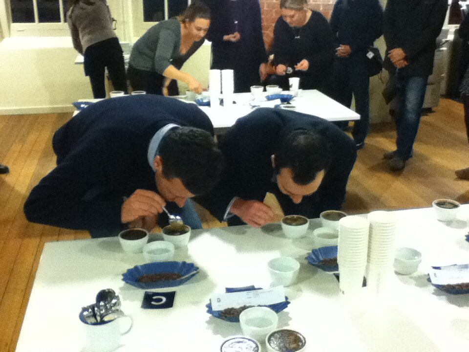 Coffee Cupping at Southbank Library