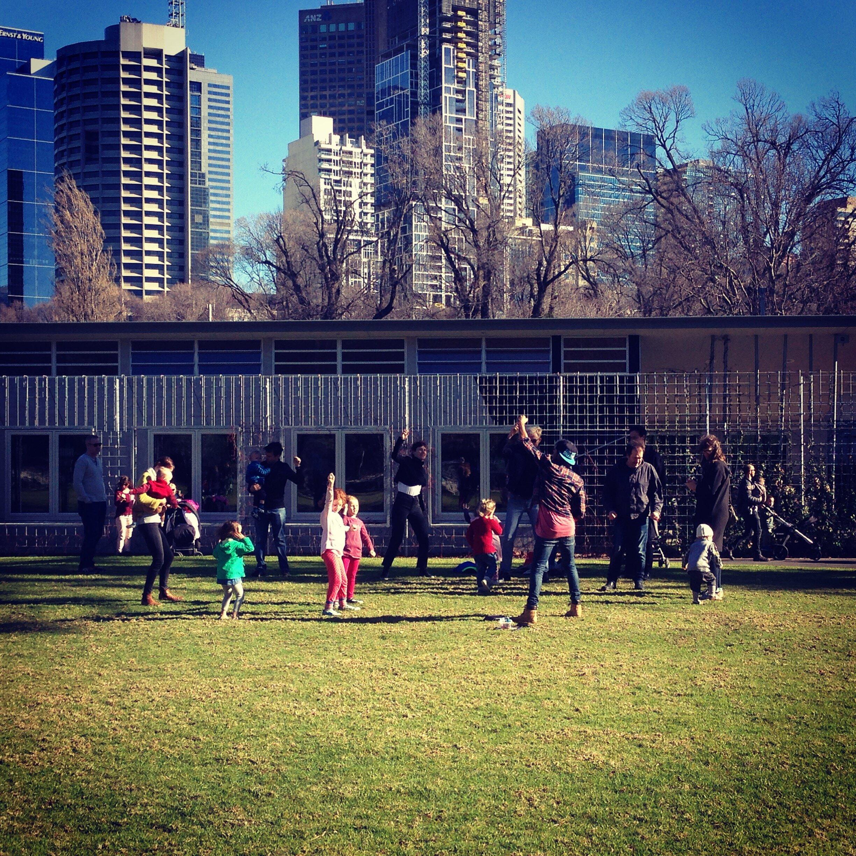 Kids Hip Hop in the Park