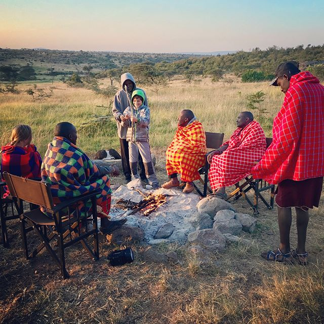 Incredible last full day before we leave tomorrow 😬 #walkingsafari #basecampexplorer #eagleviewcamp #maasai #masaimara #kenya #familytravel #familygapyear #goadventuretogether