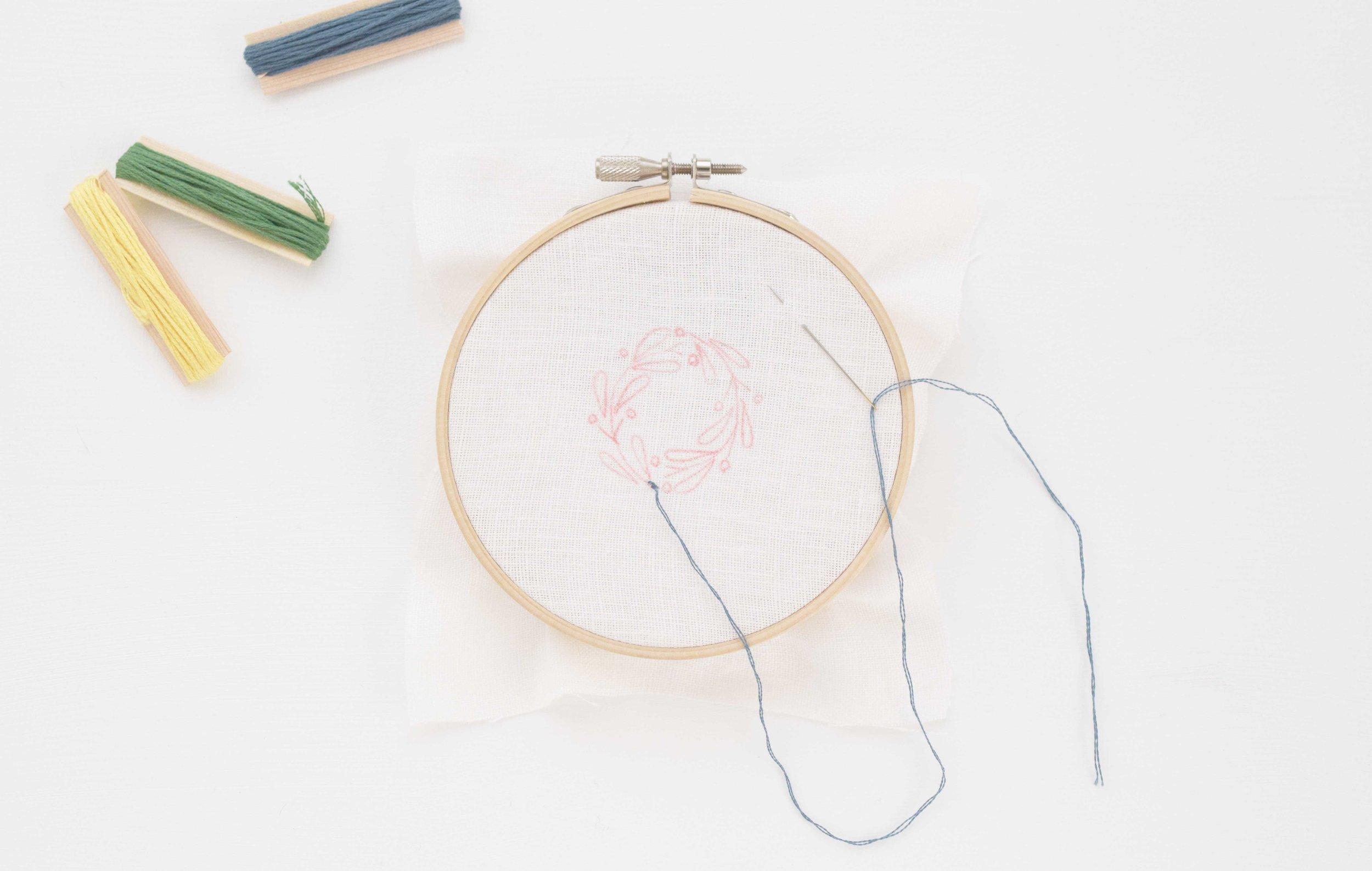 刺繍の基本 初めて キット
