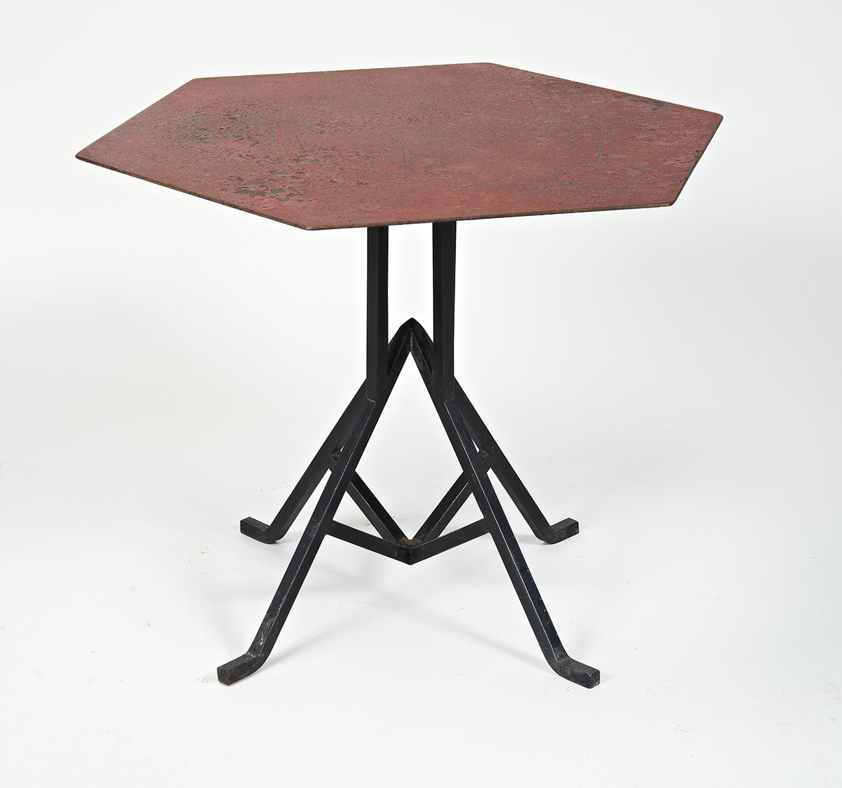 Frank Lloyd Wright iron table angle.jpg