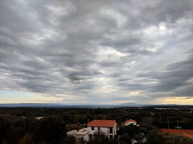 It's definitely winter here on the Istrian Peninsula. Last time I was here was on the 2016 Mongol Rally and it was bright summer. . . . #istria