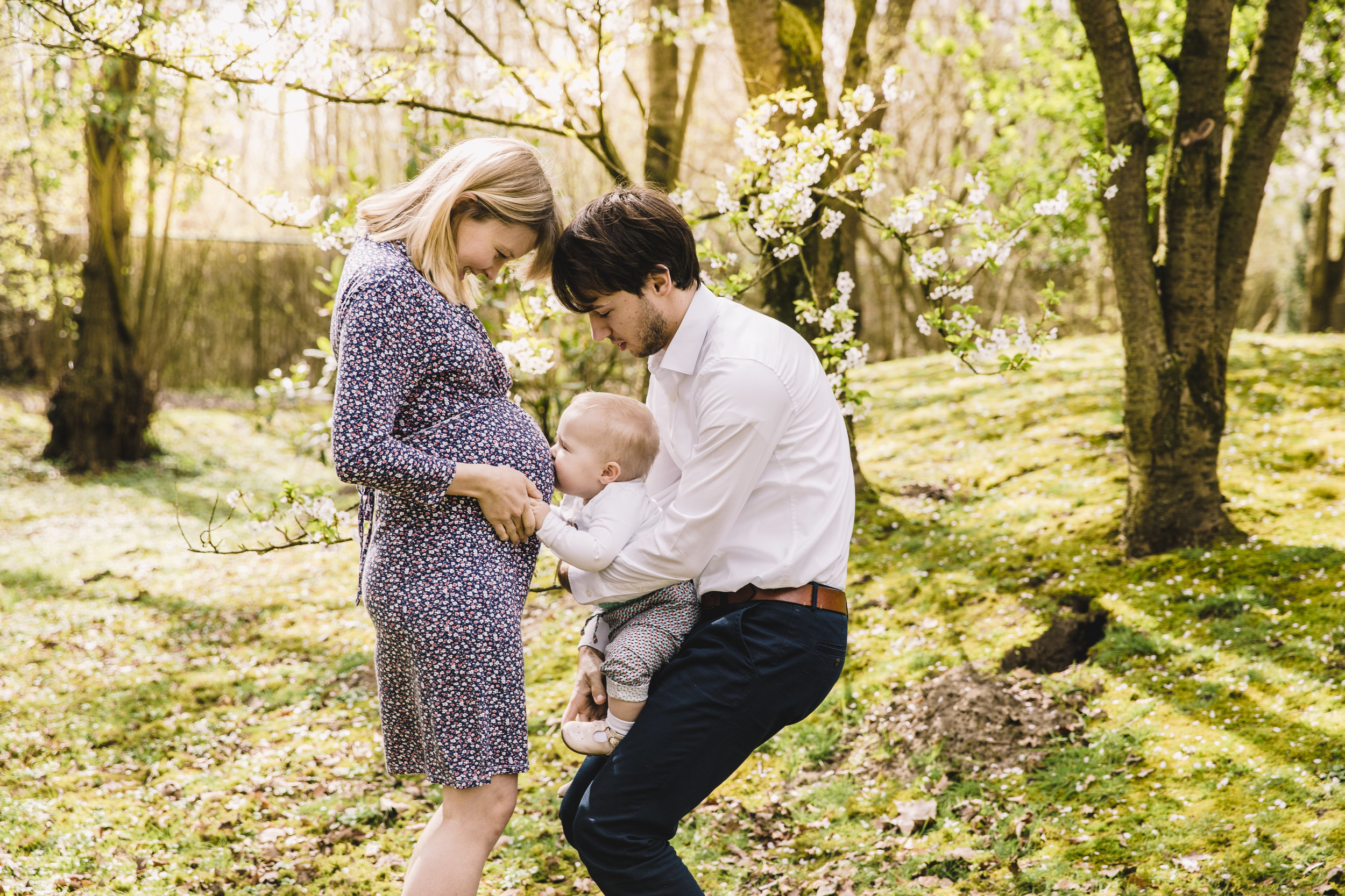 Maternity Shoot Lore x Geert x Minne