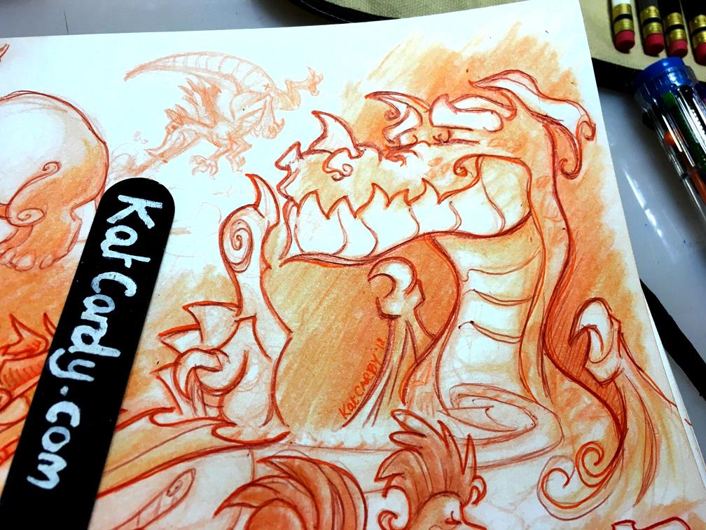 Free-Flow Sketchbook Page1_Dragon close-up.jpg