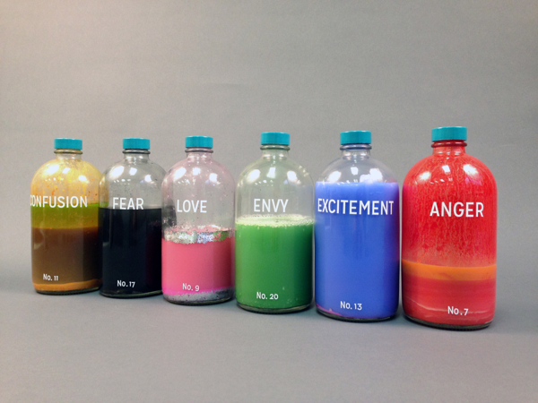 Taylor Kinser, Bottled Emotions (2014).