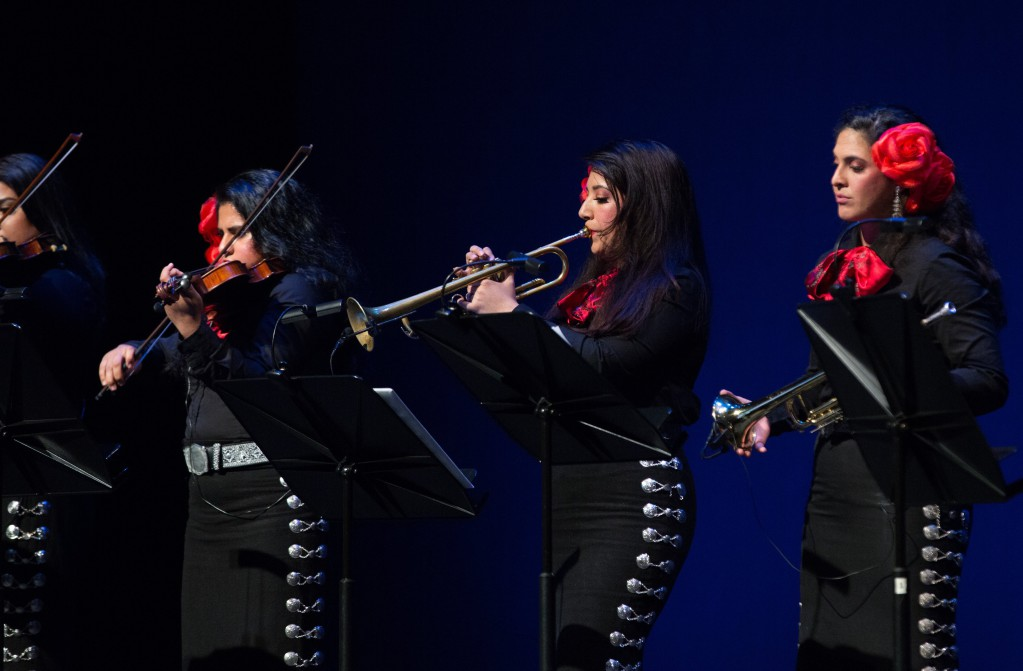 Las Rosas Divinas perform Mariachi Wagner at Moody Performance Hall in Downtown Dallas  © SOLUNA Festival