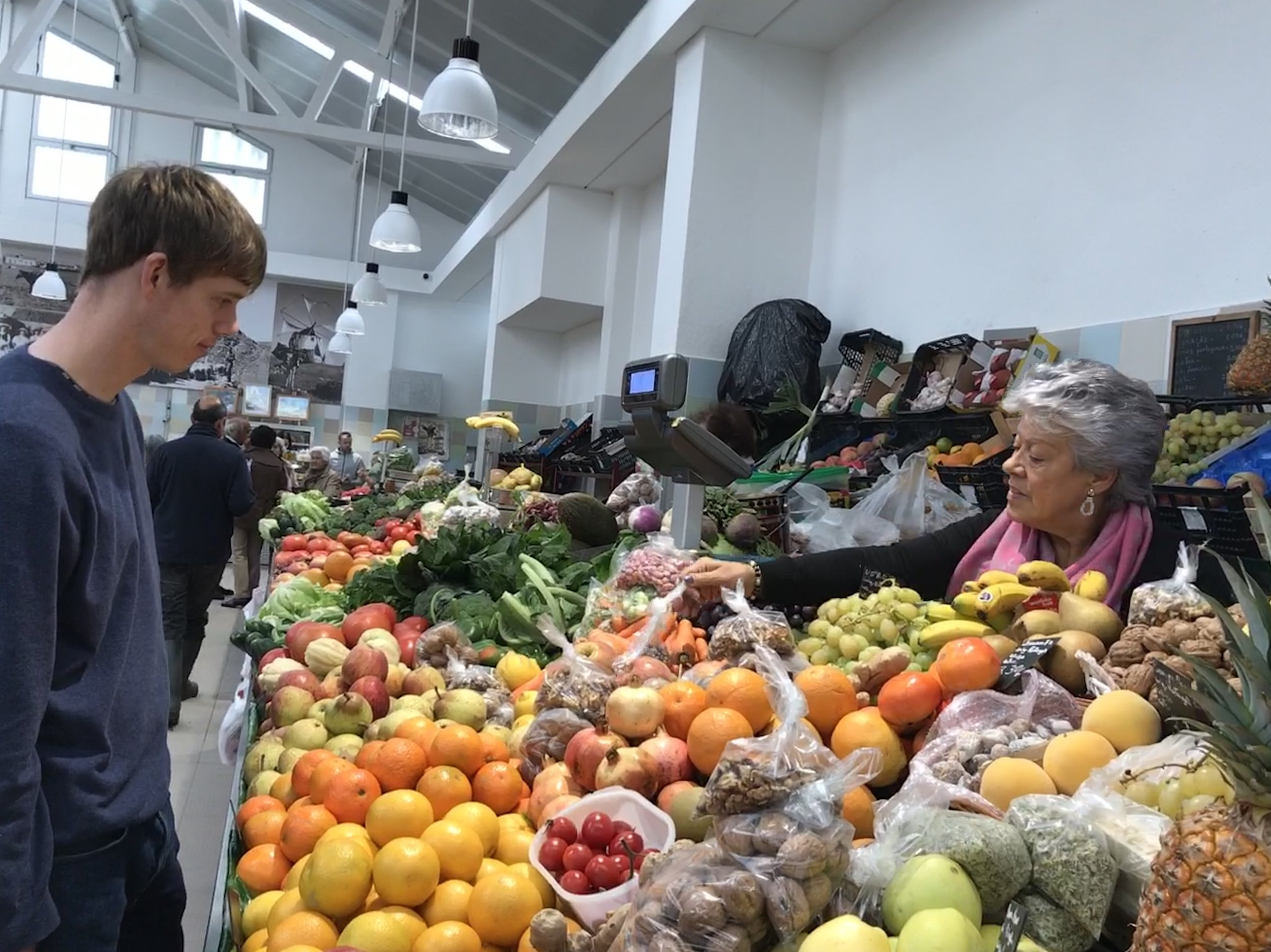 Sesimbra's Market was one of our favorites.