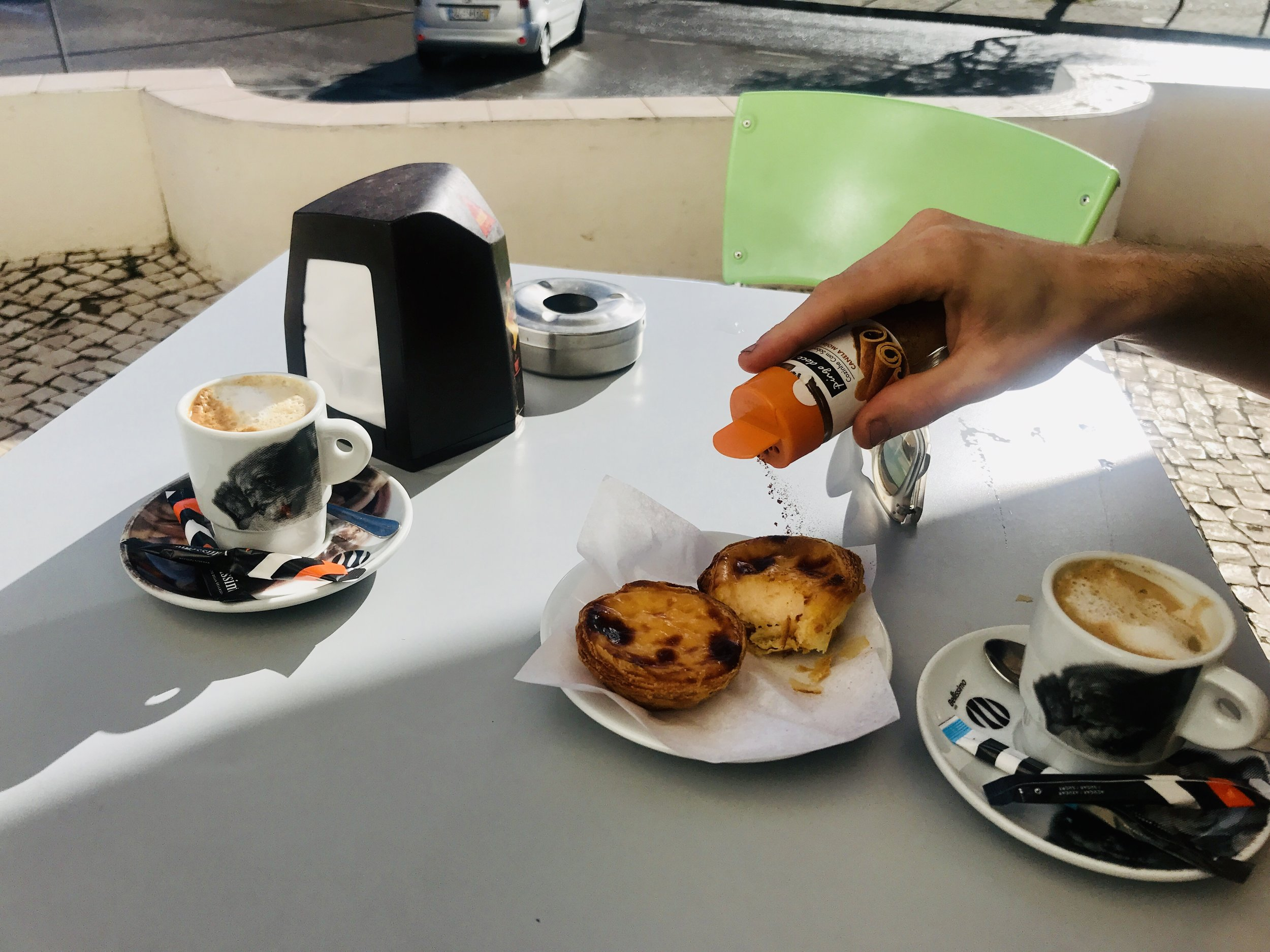 Pastel de Nata in Lagos, Portugal