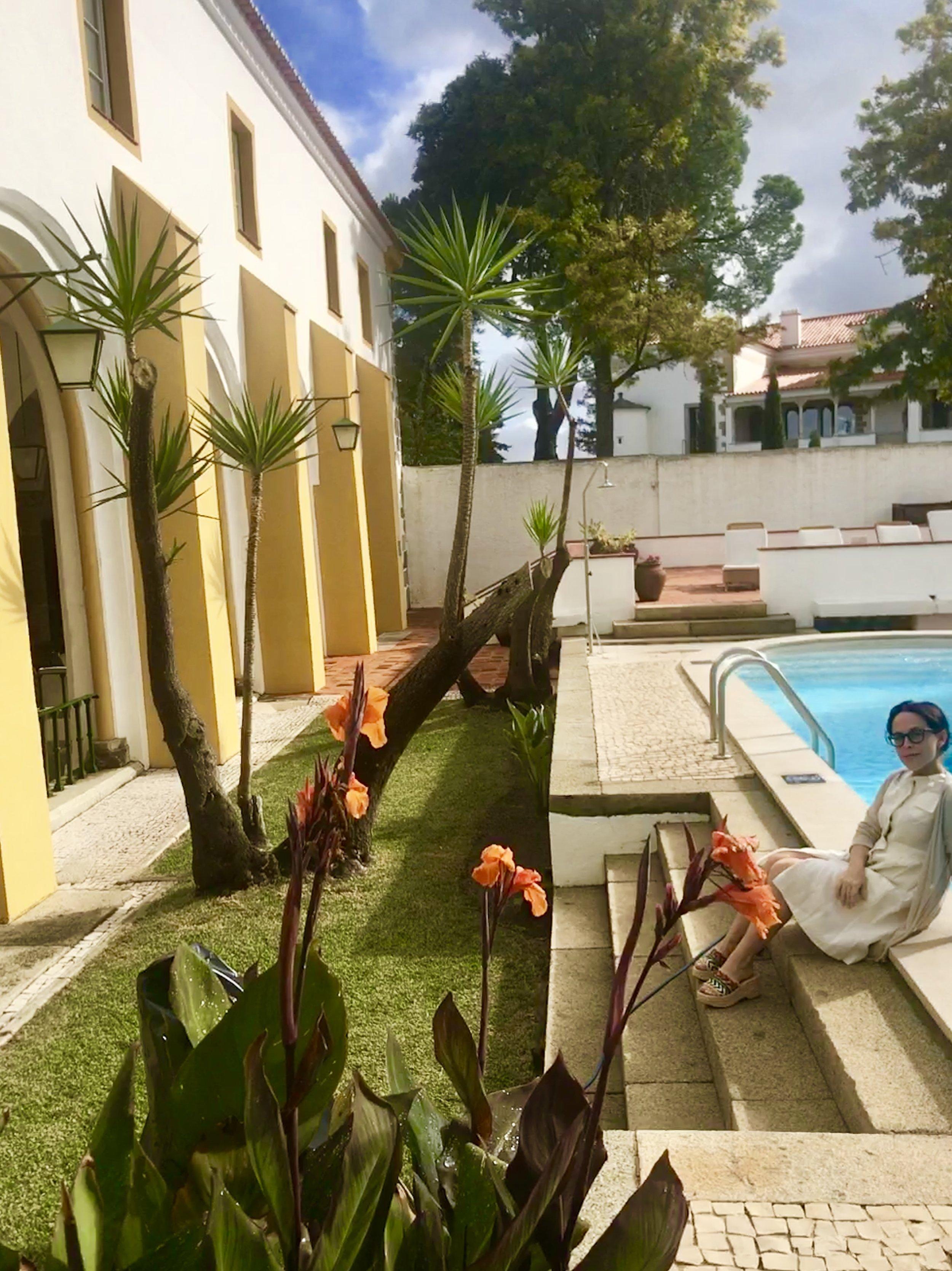 I loved the pool at Pousada Convento Évora!