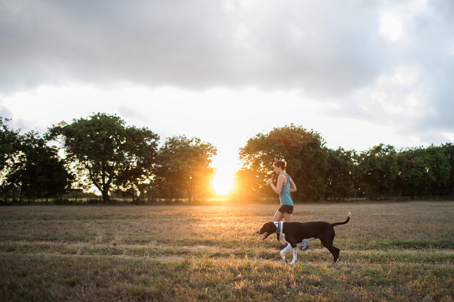 Go for a sunrise run