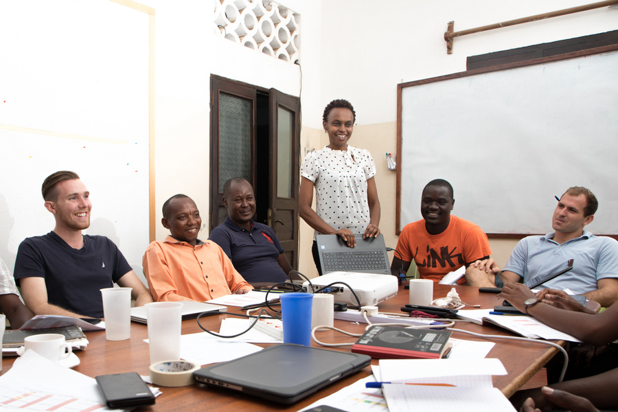 Lead a brainstorm on new field team management strategies