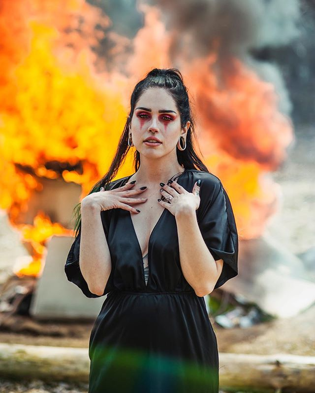 """She's mad, but she's magic. There's no lie in her fire."" ~Charles Bukowski▫️▫️▫️▫️▫️▫️▫️▫️▫️ In Frame: @counteractbooze 🖤👽✨ .📸Keith-Alan DeFranca  www.EarthWorkStudios.com #earthworkstudios . . . . . #earthworkportraits  #portrait_mf #theportraitpr0ject #foto_dome  #inspireangelo #777luckyfish #VisualCaptures #PortraitFeed #Ports_Flair #portrait_vision #photopeoplegallery #lensofourlives #bravoportraits #portraitstream #wwportraits  #featureandlight #findmeinthelight #people.gallery #leagueoflenses #quietthechaos #collectivetrend #portraitpage #Gramkilla #PortraitKillers #Comfyportraits #creatorsofportraits  #moodyports #globe_portraits #alltheoceanblues"