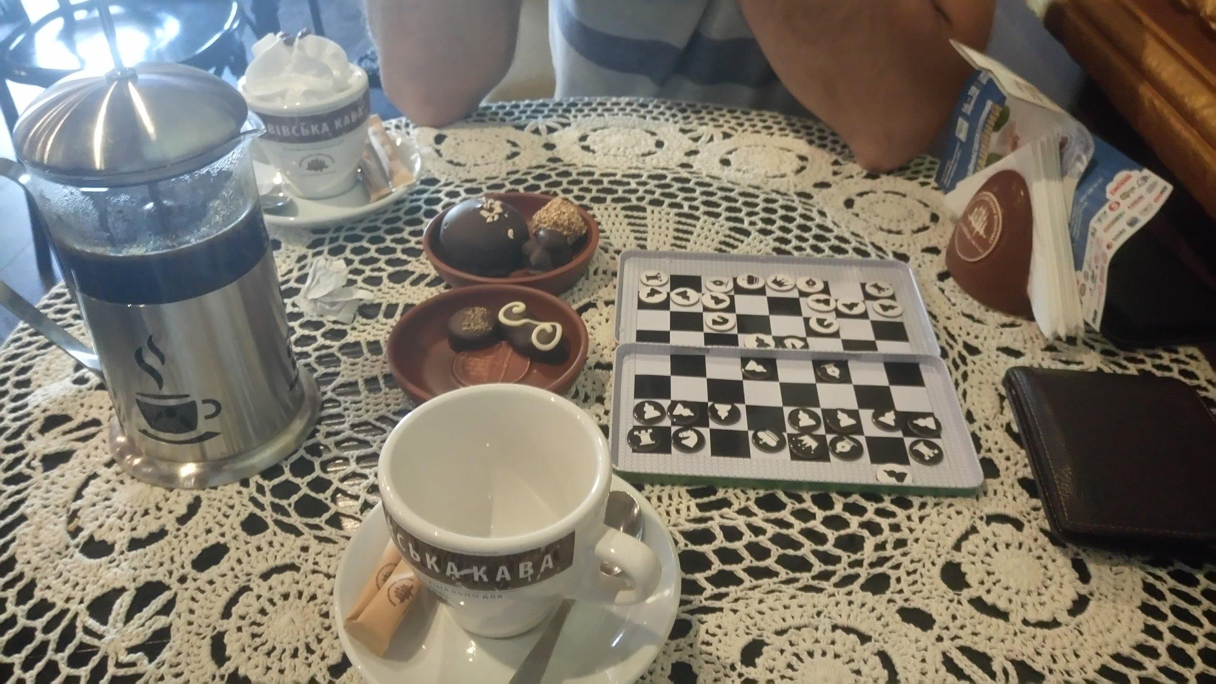 Coffee, chocolate, chess - Kiev, Ukraine